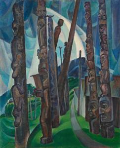 Emily Carr, Kitwancool, 1928